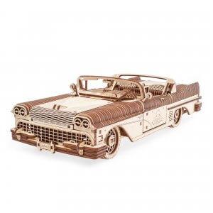 UGears Mechanical Wooden Model 3D Puzzle Kit Dream Cabriolet VM-05